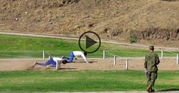 Uma incrível e insana pista de obstáculos militar chilena. Assista ao vídeo.
