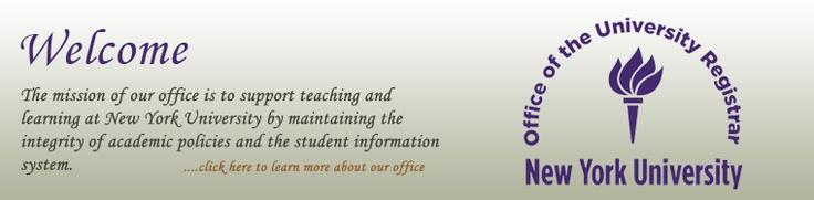 University Registrar-calendars, etc