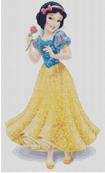 Hey, I found this really awesome Etsy listing at https://www.etsy.com/listing/177331060/counted-cross-stitch-pattern-disney-snow