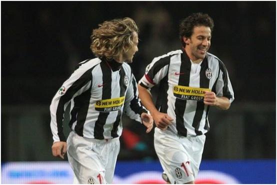 Pavel Nedved e Alex Del Piero - legends