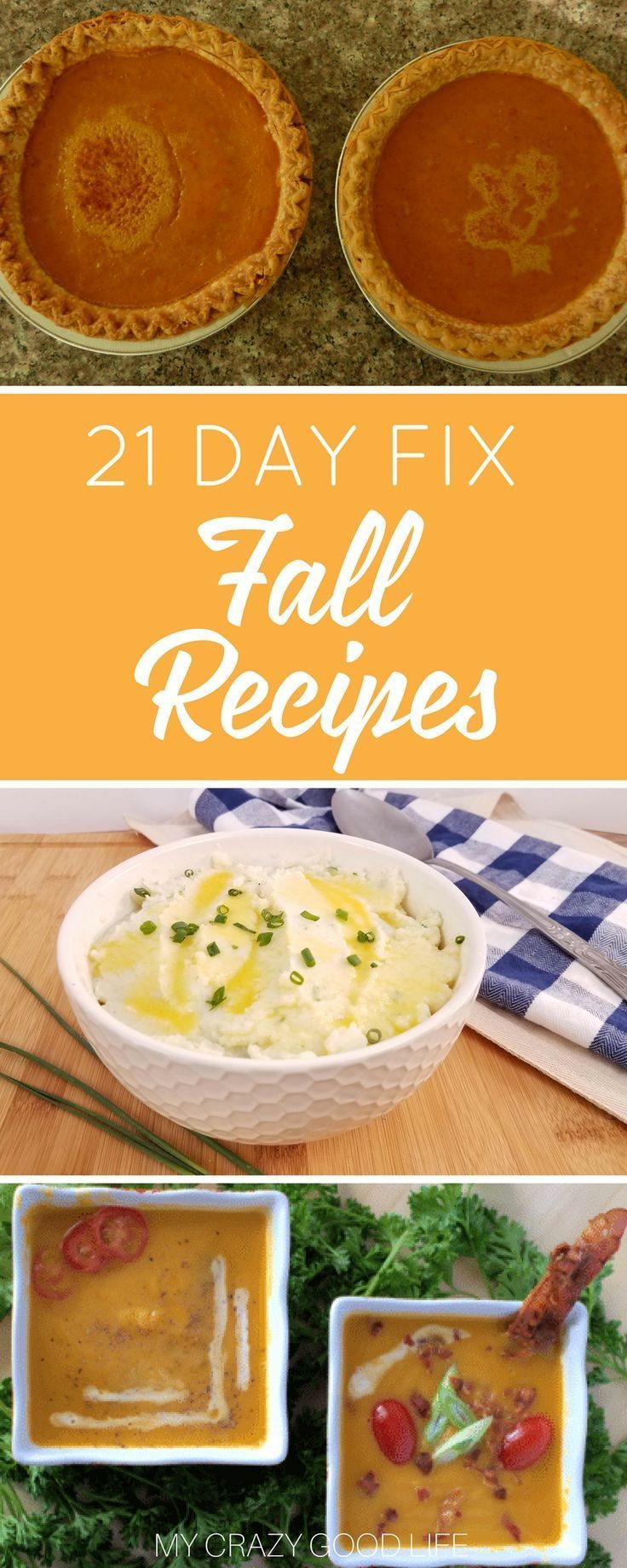 Just because the holidays are here doesn't mean you get a free pass to skip out on your healthy lifestyle! Instead, use this list to find some 21 Day Fix fall recipes that are healthy and fixed! via @bludlum