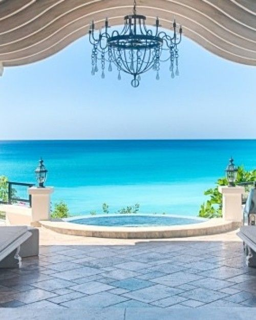 La Samanna Resort, Saint Martin - Most rooms feature private terraces and all have caribbean views. World class private beach, complete with butler service. A distinctly Côte d'Azur feel, without all the sceniness of St. Bart's.