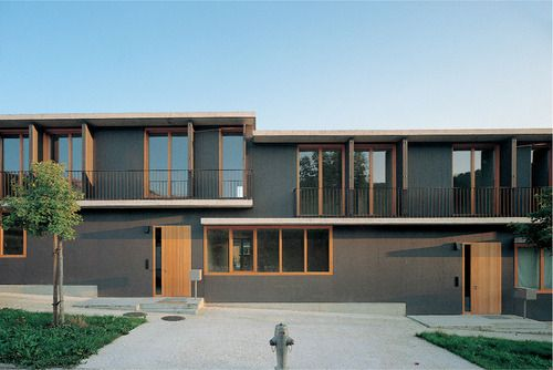 spittelhof estate - biel - peter zumthor - 1996 - photo (c) christian richters / hélène binet