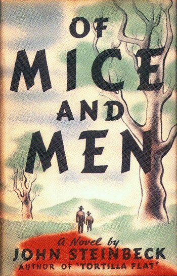 "Steinbeck's working title for this slim novel was Something That Happened, which is actually sort of brilliant, if grim. But he changed it after reading Robert Burns's poem ""To a Mouse,"" which contains the now-famous line, ""The best laid schemes o' mice an' men / Gang aft agley"" (""The best-laid plans of mice and men / Often go awry"")."