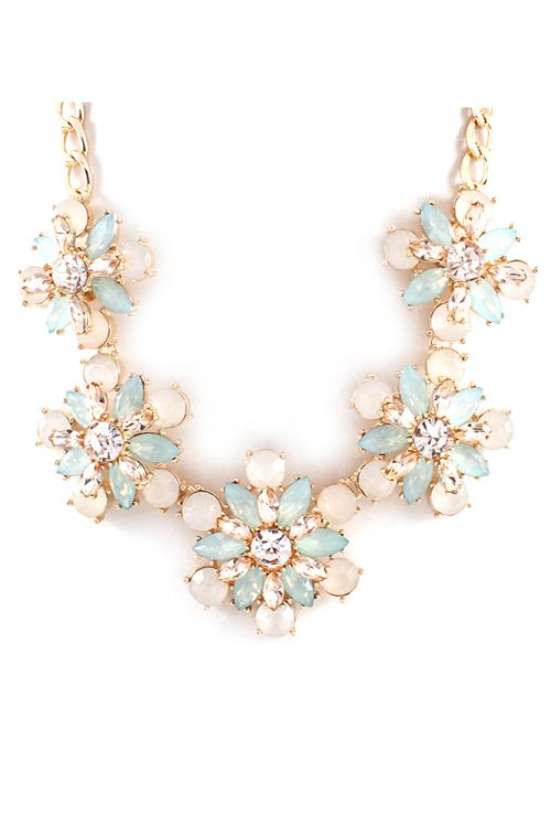 Anne Necklace in Aspen Mint | Awesome Selection of Chic Fashion Jewelry | Emma Stine Limited