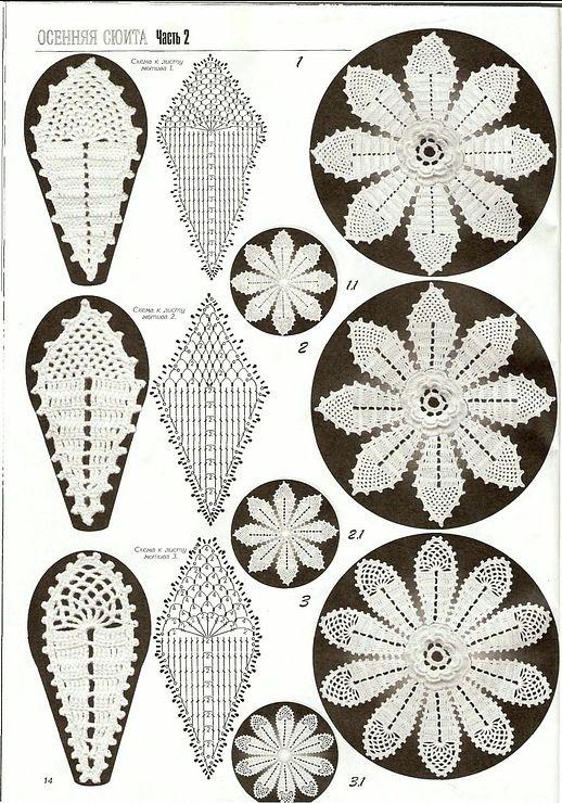 irish crochet motif ... Gallery.ru / Foto # 57 - Platia-2 - nikoshka