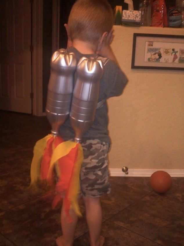 Rocket jet pack - 16 Fun and Easy DIY Kid Crafts and Activities @Birmingham Kids and Family Magazine