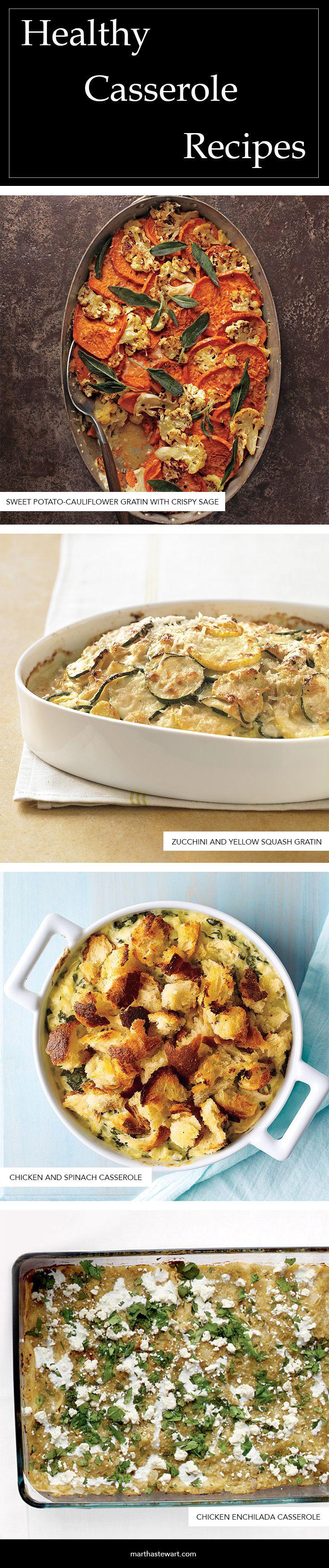 Healthy Casserole Recipes   Martha Stewart Living