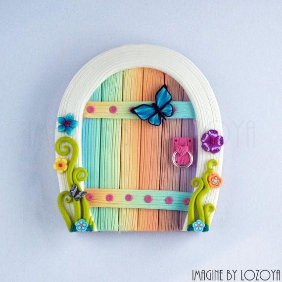 Fairy Door Model Pérez// Puertas de hadas por imaginebylozoya