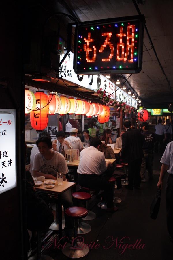 新宿西口思い出横丁, Shinjuku Nishi Omoide Yokocho, yakitori alley, Tokyo