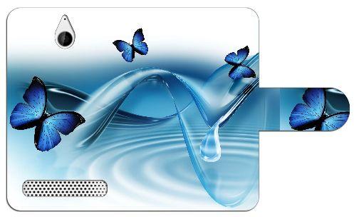 Sony Xperia E1 Uniek Design Hoesje Vlinders  Sony Xperia E1 uniek vlinders design boekhoesje met opbergvakjes. Door dit beschermhoesje heb je geen krassen deukjes of andere mogelijke beschadigingen aan je telefoon. Het hoesje is gemaakt van hoge kwaliteit PU-leder en heeft een plastic case. Deze case is speciaal voor de Xperia E1 gemaakt zodat je toestel er veilig en stevig in past. In de case zijn uitsparingen gemaakt zodat alle knoppen en poorten van je telefoon altijd te gebruiken…