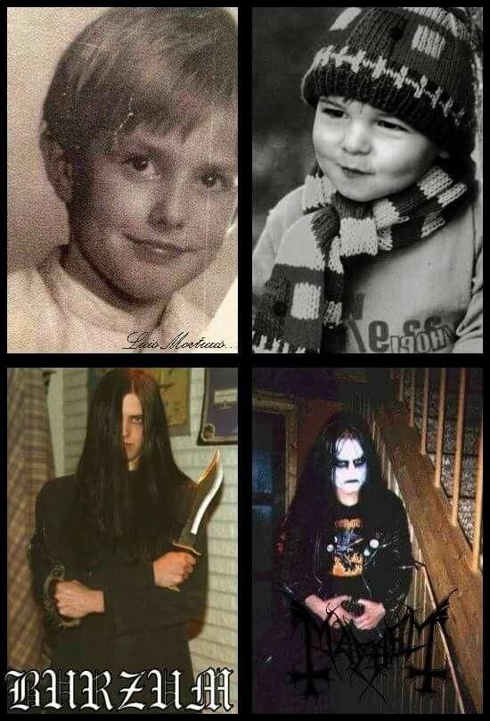 Euronymous & varg vikernes