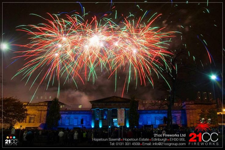21CC Fireworks at www.edinburghbridesweddingguide.com