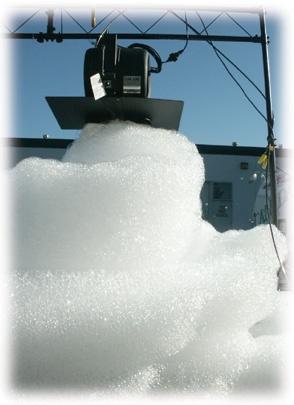 cheap foam machine rentals