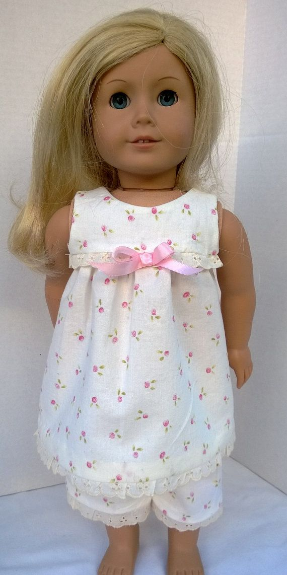 American Girl Doll Clothes  Pajamas by PixieandLackie on Etsy, $23.00
