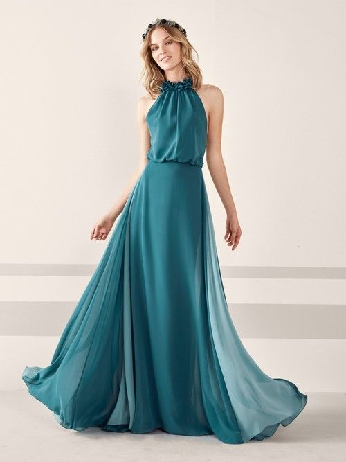 16b065bc150e Literally the most perfect dresses for the most romantic summer. Get your  read on! Vestidos Largos Sencillos De Fiesta.