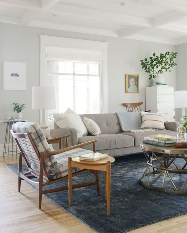 A Relaxed Neutral Living Room Lulu And Georgia Great Design Pinterest Neutral Living