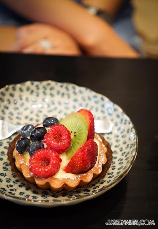 La Banette Glebe - Fruit Tart, Great Custard