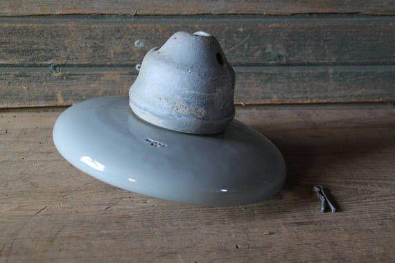 LARGE porcelain electric insulators