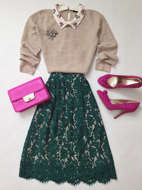 green lace skirt                                                                                                                                                                                 More