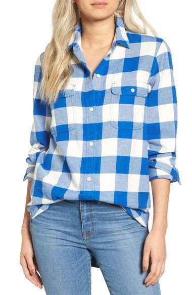 Madewell Ex Boyfriend Shirt available at #Nordstrom