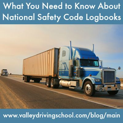 Blog: What You Need to Know About National Safety Code Logbooks #truckerlife #learnwithvalley #logbooks