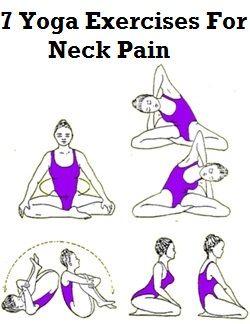 Ejercicios de Yoga para el dolor de cuello