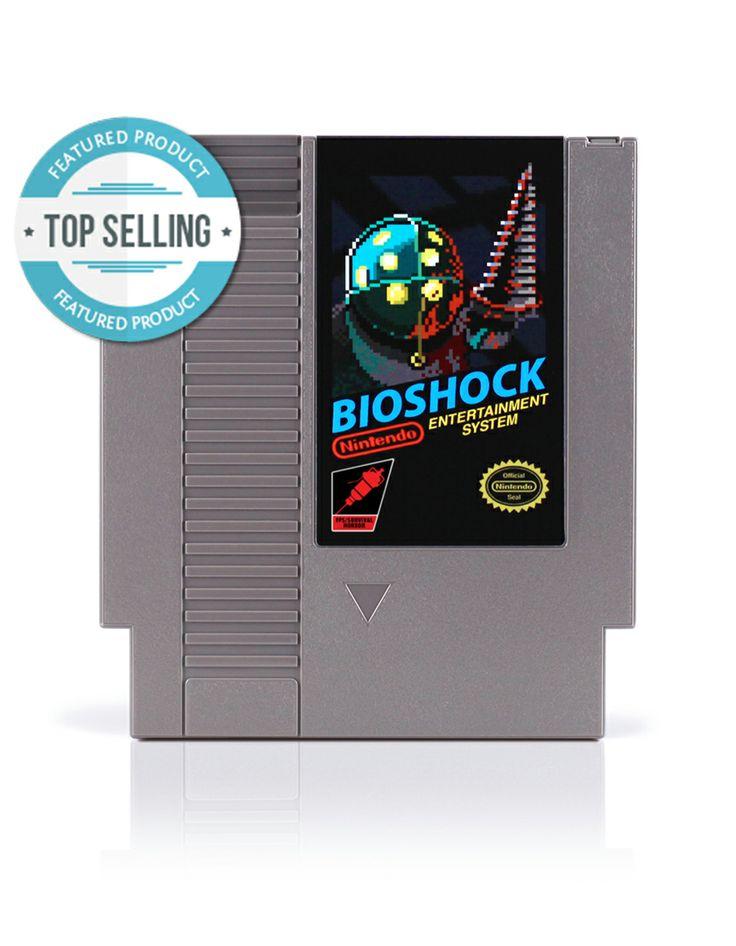 Bioshock NES cartridge