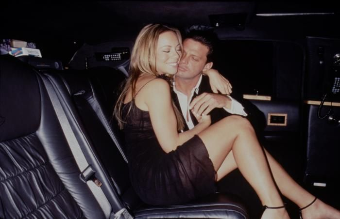 Mariah Carey and Luis Miguel - Mariah Carey's life in pictures