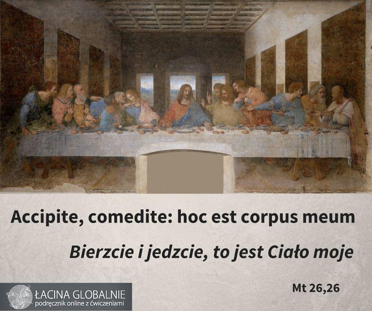 #biblia #cytaty #ewangelia #wielkanoc #wielkanoc2016 http://lacina.globalnie.com.pl/sentencje-lacinskie/