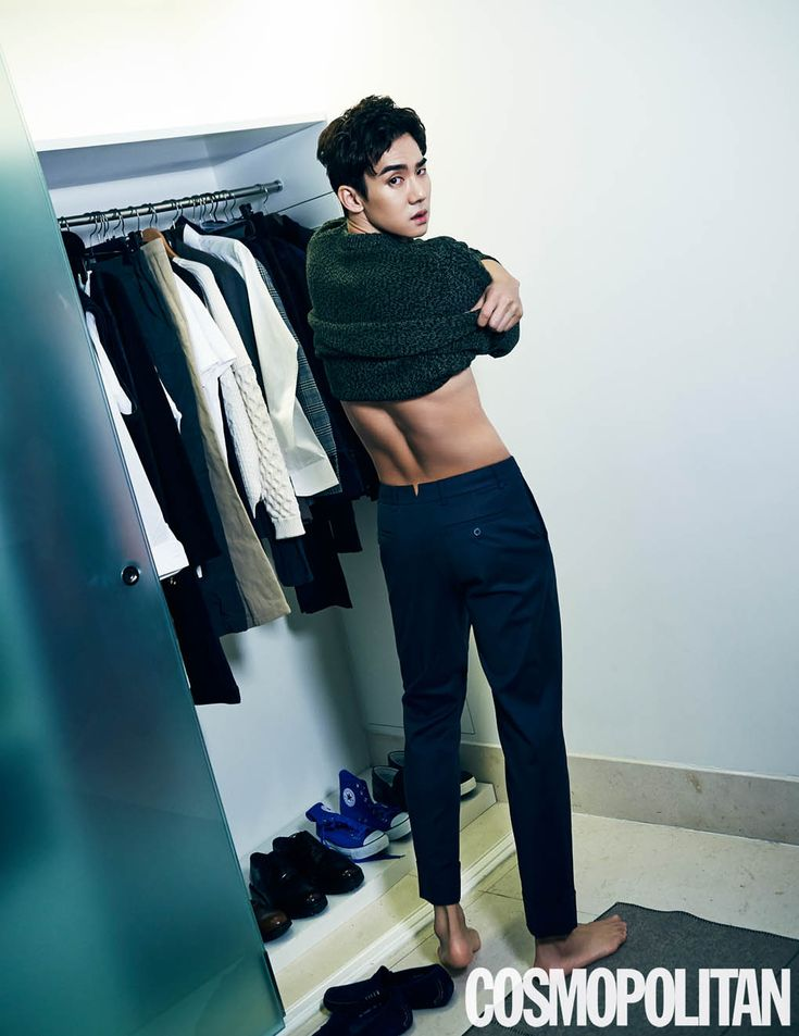 Yoo Yun Suk - Cosmopolitan Magazine January Issue '15
