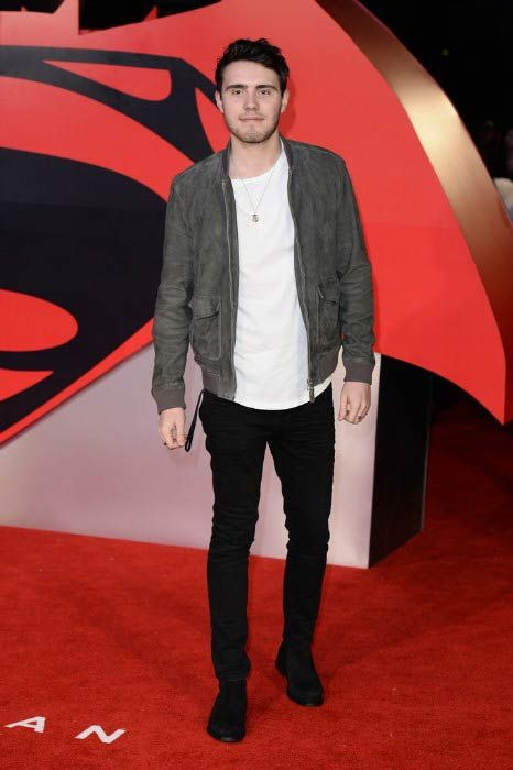 YouTuber Alfie Deyes at the Batman V Superman: Dawn Of Justice European premiere in March 2016...