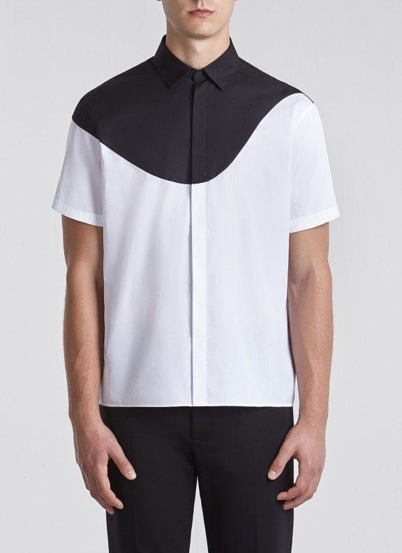Eames Shirt White/black 1/2