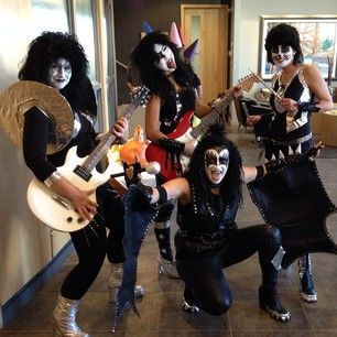 KISS | 31 Rad Group Costume Ideas To Steal This Halloween