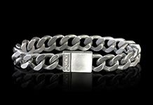 Light up his eyes with this heart stopping bracelet, dazzling and superb