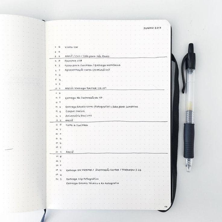 such a simple june monthly log, but i really love it! {#bujo #bulletjournal #bujoinspo #bujojunkies #bujobrasil #bujoinspire #bulletjournaljunkies #journaling #planner #studyblr #studygram}