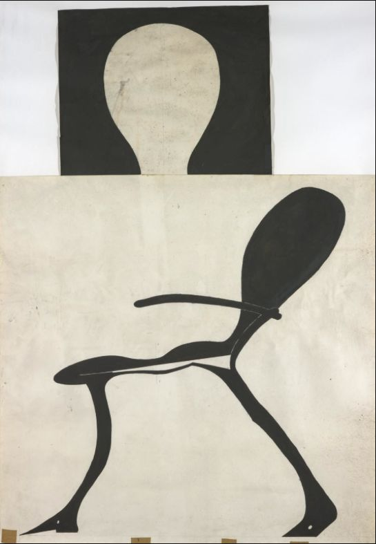 Joseph Beuys, Brightly-Lit Stag Chair
