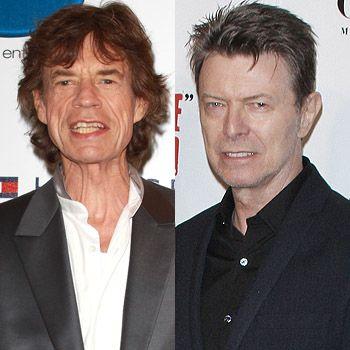 David Bowie y Mick Jager nunca negaron que fueron amantes.  Ambos fueron sorprendidos por la mucama de David Bowie, desnudos y abrazados bajo las sábanas, totalmente borrachos y drogados con cocaina.  Angie Bowie (esposa de David) tambien fue amante de Mick Jager y se sabe que David Invitaba a Mick, para que le hiciera el amor a su esposa, mientras éste los filmaba.  Esta Angie Bowie, fue la inspiración para el disco Angie de los Rolling Stones.