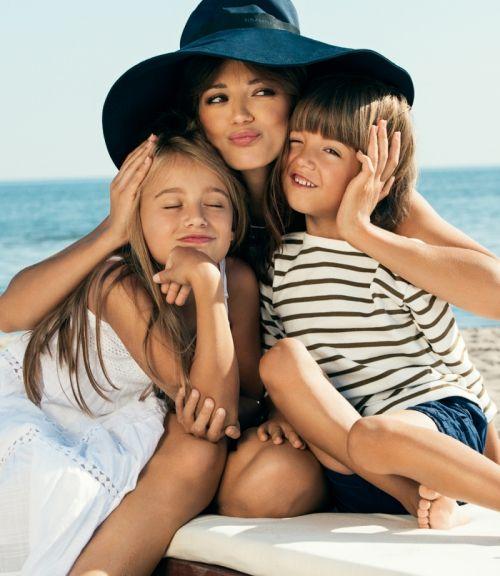 Anna Przybylska z dziećmi #polkipl