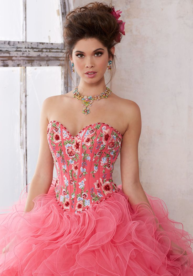 Mejores 576 imágenes de Quinceanera Dresses en Pinterest ...