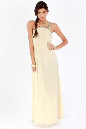78  ideas about Cream Maxi Dresses on Pinterest - Elegant dresses ...