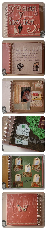 Libro de firmas para boda totalmente personalizado