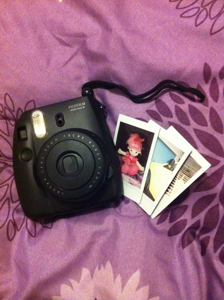 Hey there pretty!    Fuji film instax mini 8    instant camera    shake it
