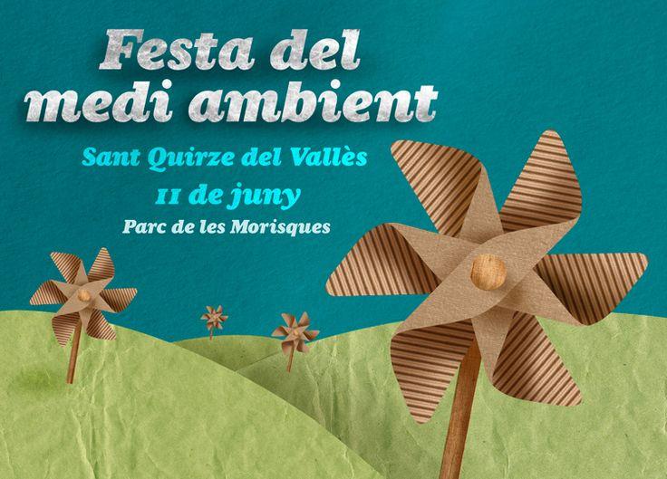 Festa del Medi Ambient a Sant Quirze del Vallès   11 de juny del 2017 #SQV #santquirzedelvalles #residus #reciclatge #mediambient
