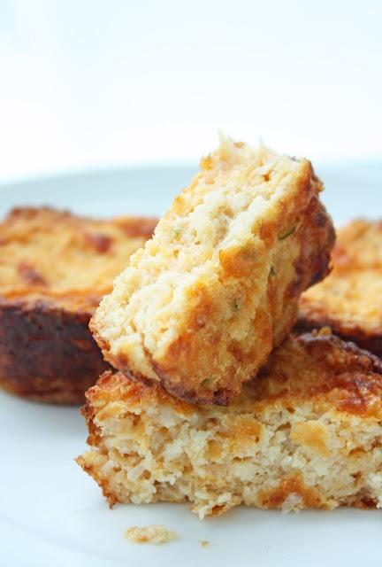 Jalapeno & Cheddar Cauliflower Muffins (Grain-free & Low-carb)