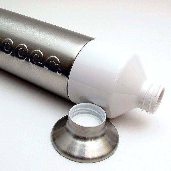 De Dopper duurzame herbruikbare drinkfles nu ook in roestvrij staal http://www.x6lifestyle.com/product/dopper-steel-drinkfles/