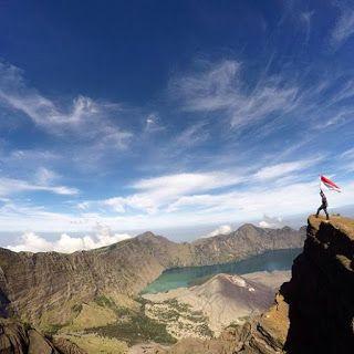 MT Rinjani Lombok Indonesia 3.726 MDPL