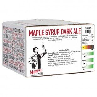 Maple Syrup Dark Ale - Specialty Beers - Beer Recipe Kits - Brewing Ingredients