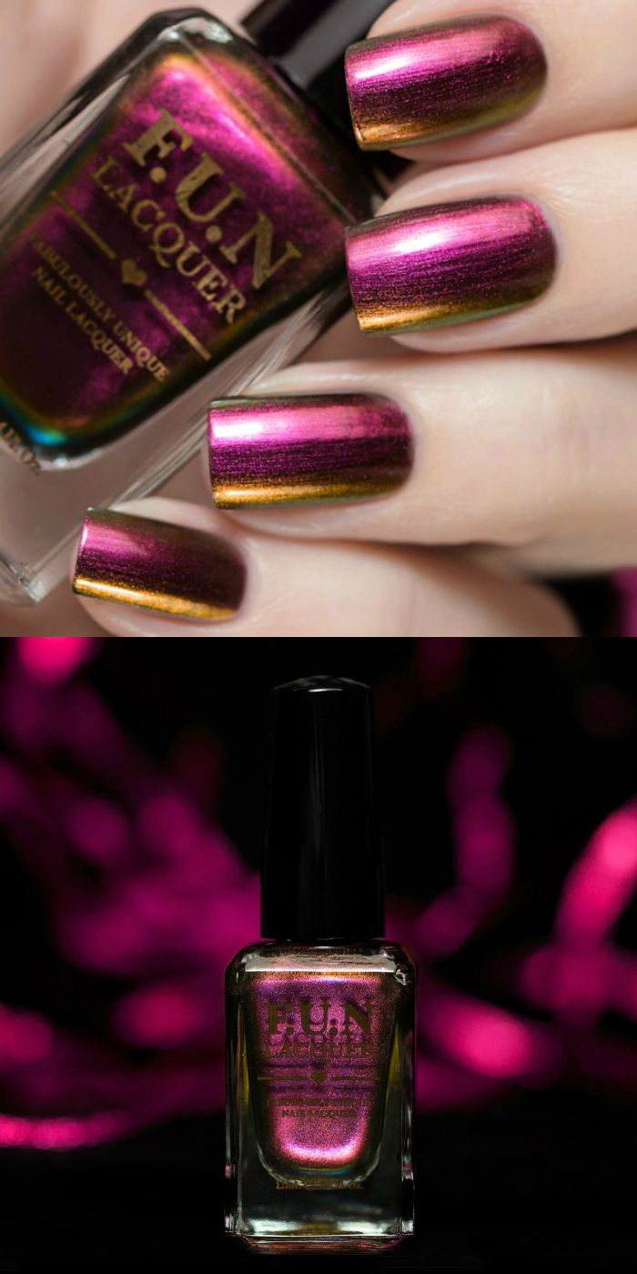 Fun Lacquer - Fabulously Unique Nail Lacquer (Unconditional Love, from the Love 2015 Collection)
