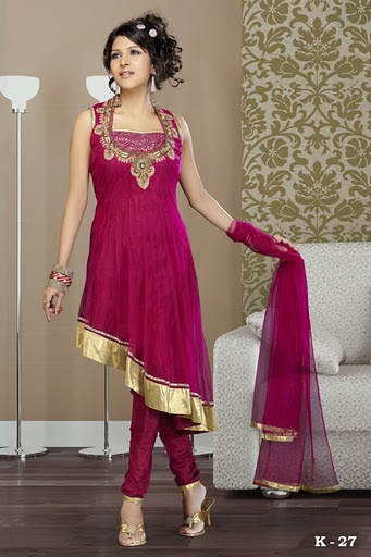 Fancy Indian Suit @ khushrang.com